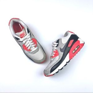 2014 Nike Air Max 90 Premium MESH GS infrared 5Y